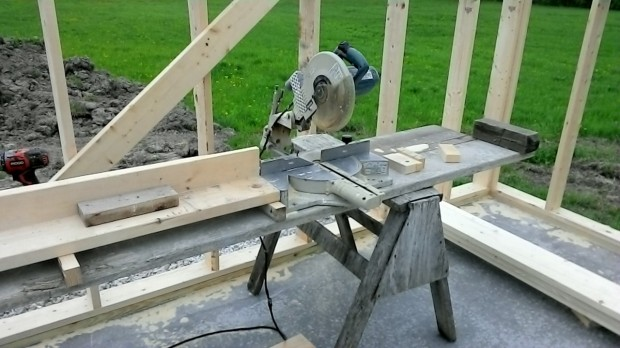The chop saw.