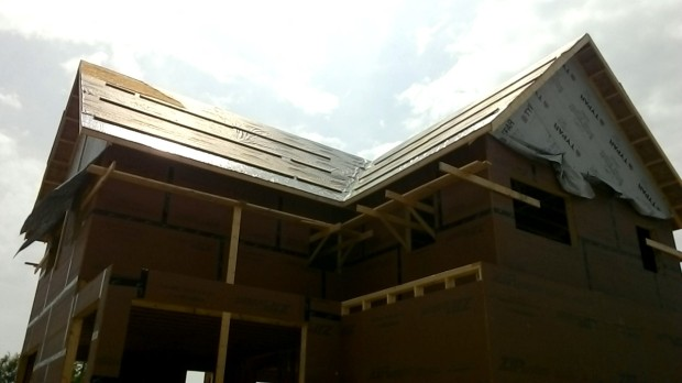 Northeast valley again. Ice & Water Shield and Roofer's Choice installed.