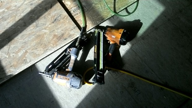 Old nail gun | New nail gun
