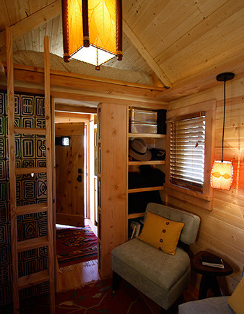 Inside a 112-square-foot house. (Image courtesy of Four Lights.)