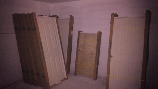 Doors galore.