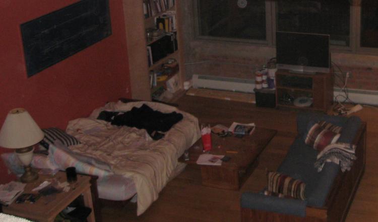 Bedworks futon in bed form.