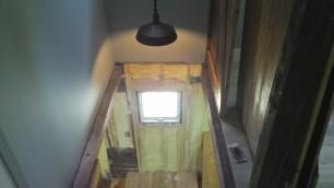 Stairway light.