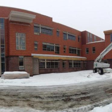 New Bancroft under construction.