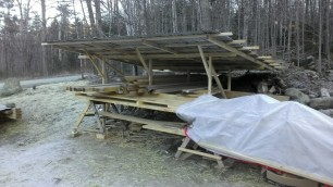 Lumber storage.