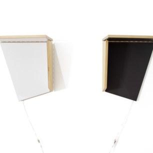 Cut & Fold wall shelf.