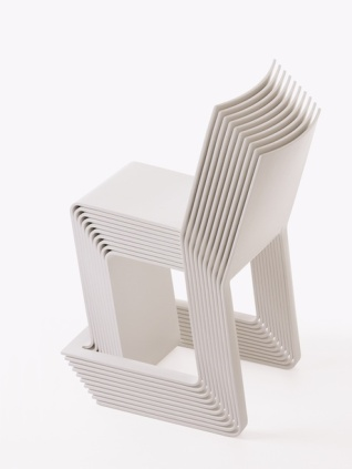 Eco stacking chair.